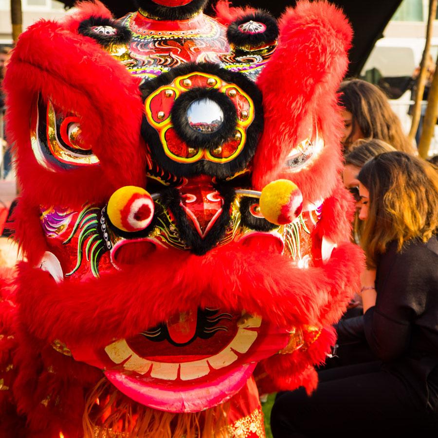Chinees Nieuwjaar festival in Rotterdam