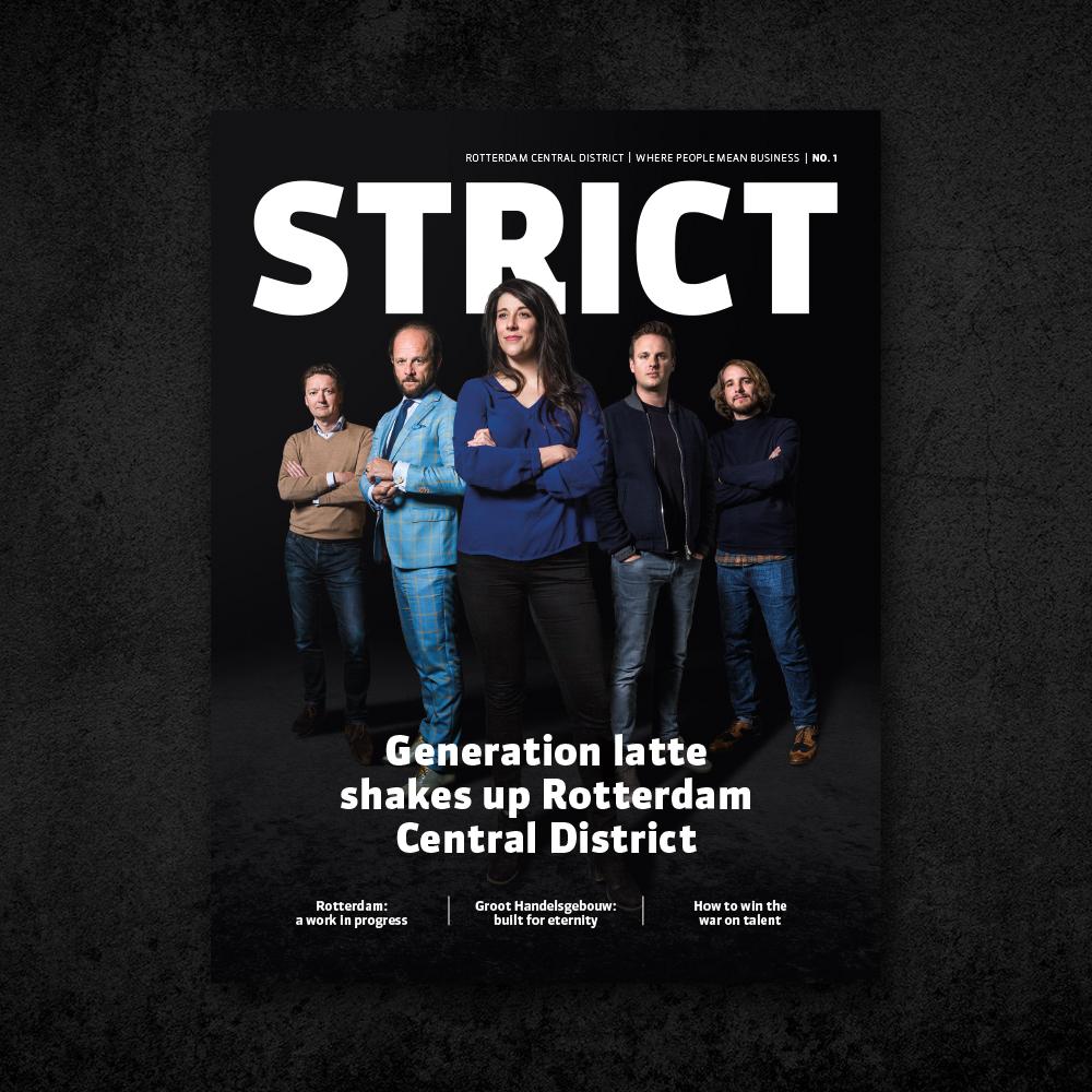 Cover van het eerste magazine STRICT over RCD