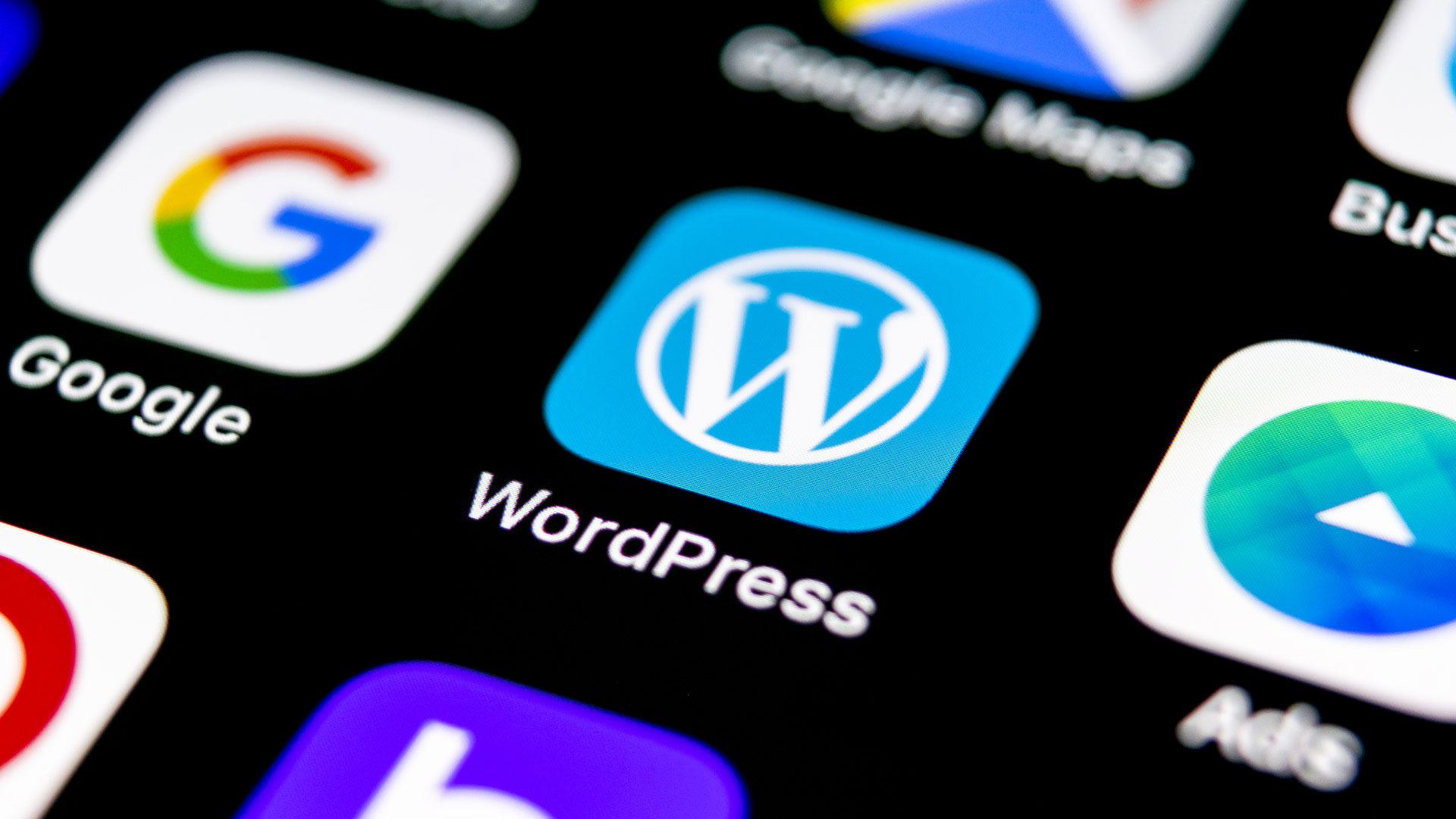 WordPress site laten bouwen